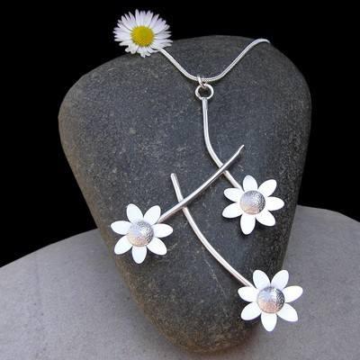 Silver Daisy Chain
