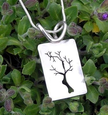 Silver Tree Pendant - GCP2