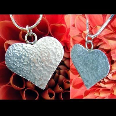 Sterling Silver Heart - JTAP6
