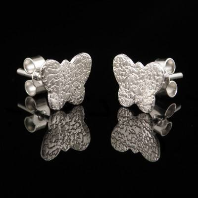Silver Butterfly Earrings - GCE23