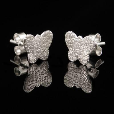 Silver Butterfly Earrings - GCE23