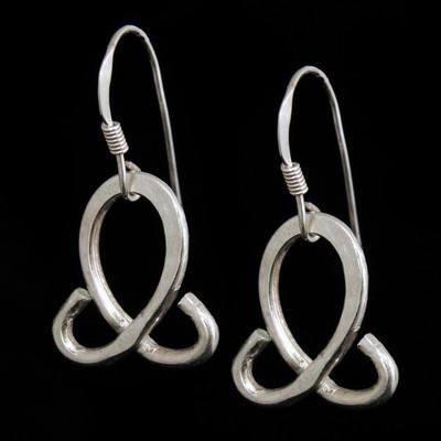 Teardrop Earrings - Silver - SWCE12