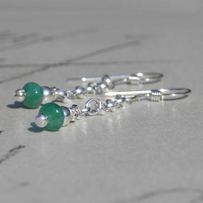 Cleo Emerald Earrings  - BCE9