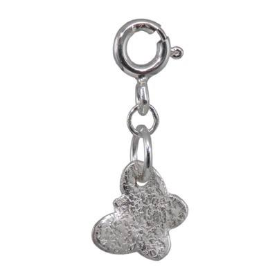 Silver Butterfly Charm - BCC9