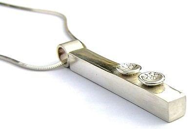 Silver Bar Pendant