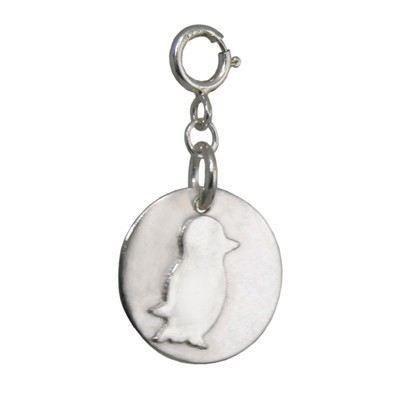 925 Silver Penguin Charm - BCC4