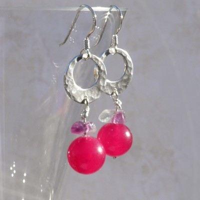 Cherry Drop Earrings - GCE17