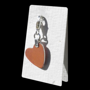 MANOR Coral Heart Charm - AC040