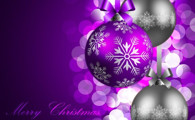 purple-christmas-background
