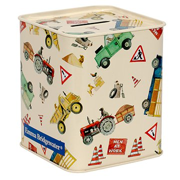 Emma Bridgewater Men at Work money tin