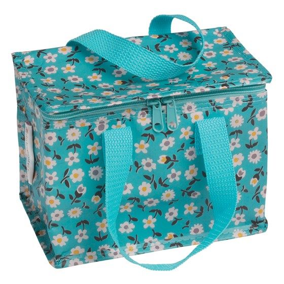 LUNCH BAG BLUE DAISY
