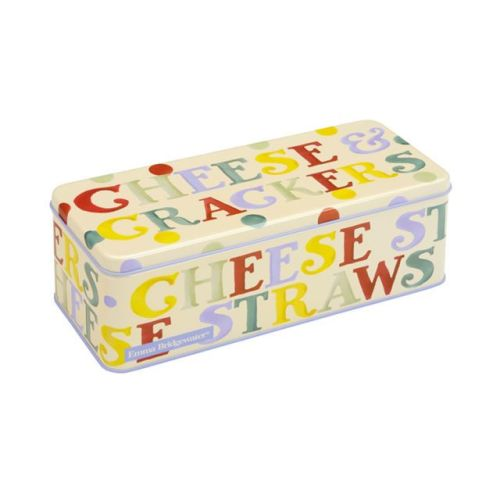 Emma Bridgewater Polka Dot Long Deep Rectangular Tin