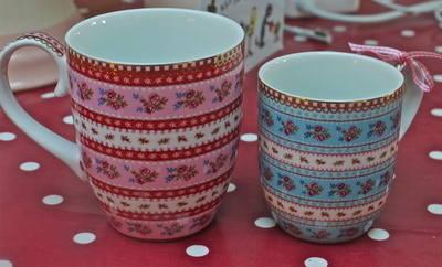 Pip Studio Large Ribbon Rose Pink Mug