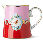 Pip Studio Large Love Birds Jug Red & Pink