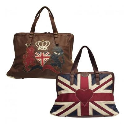 Jan Constantine Large Weekender Bag Union Jack