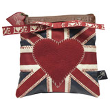 Jan Constantine Union Jack Make Up Bag