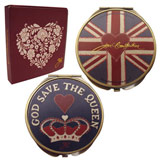 Jan Constantine Union Jack Compact  Double Mirror
