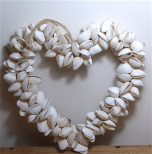 Large Shell Heart