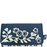 Jan Constantine China Blue wallet