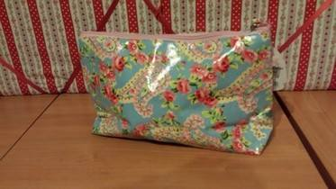 Paisley wash/make up Bag