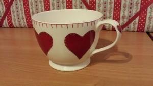 Hearts Cup Mug Jan Constantine
