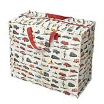 Jumbo storage bag vintage transport design