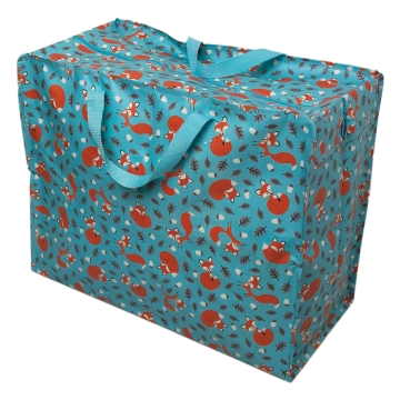 Rusty the fox design jumbo storage bag