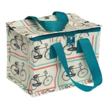 Bicycle design insulated lunch bag/ cool bag