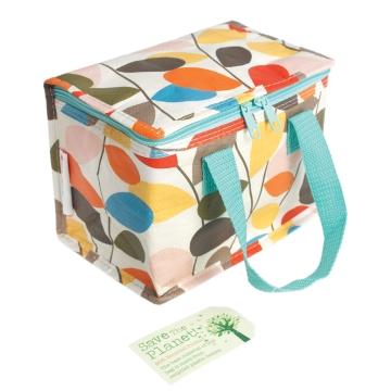 Vintage Ivy design insulated lunch bag/ cool bag