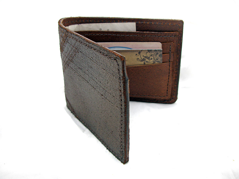 Handmade Leather Distressed Bronze Wallet