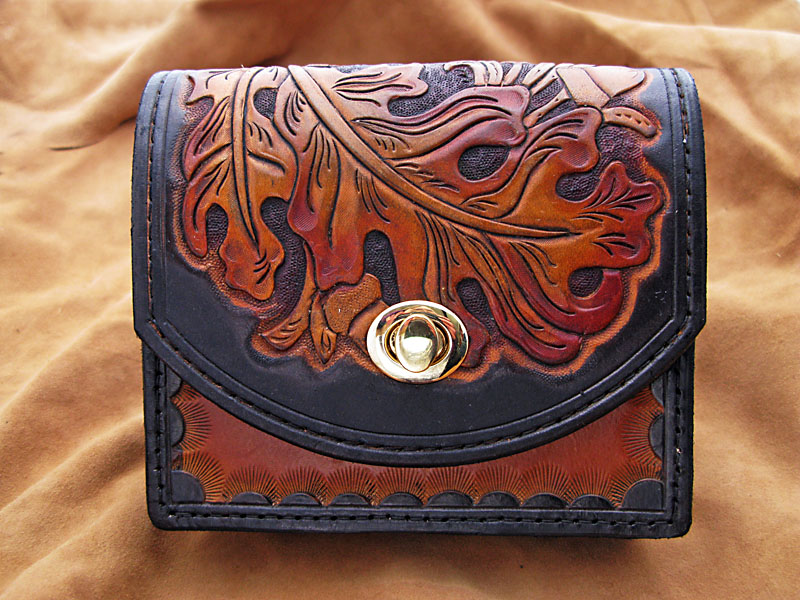 Handmade Leather Travel Pouch