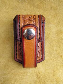 Handmade Leather USB Memory Stick Belt Pouch