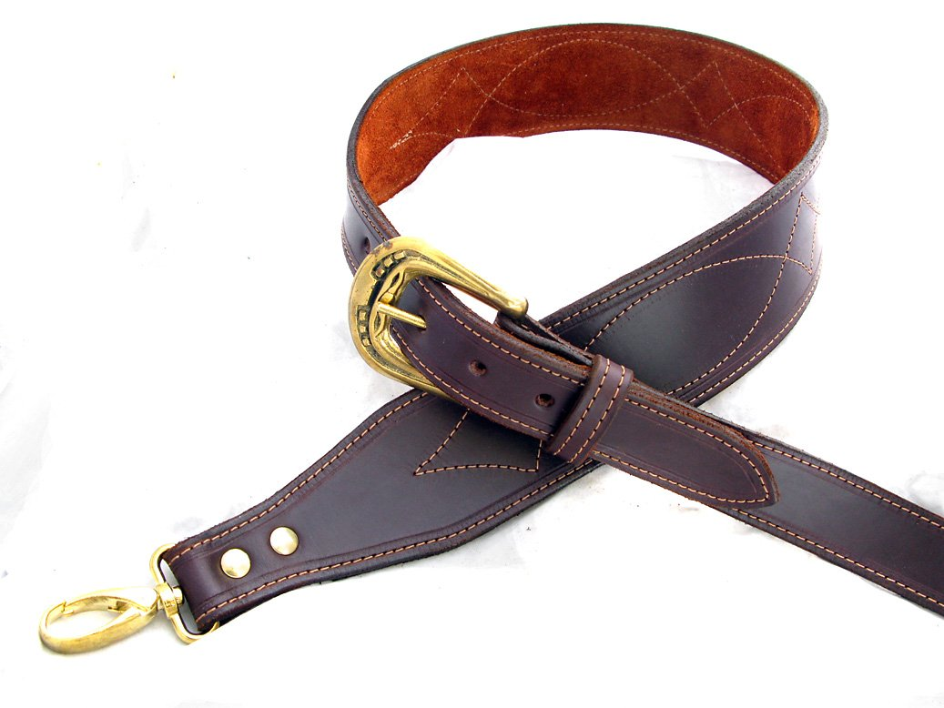 Handmade Leather Banjo Strap