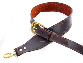 Handmade Leather Banjo Strap