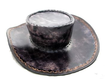 Handmade Leather Western Style Hat