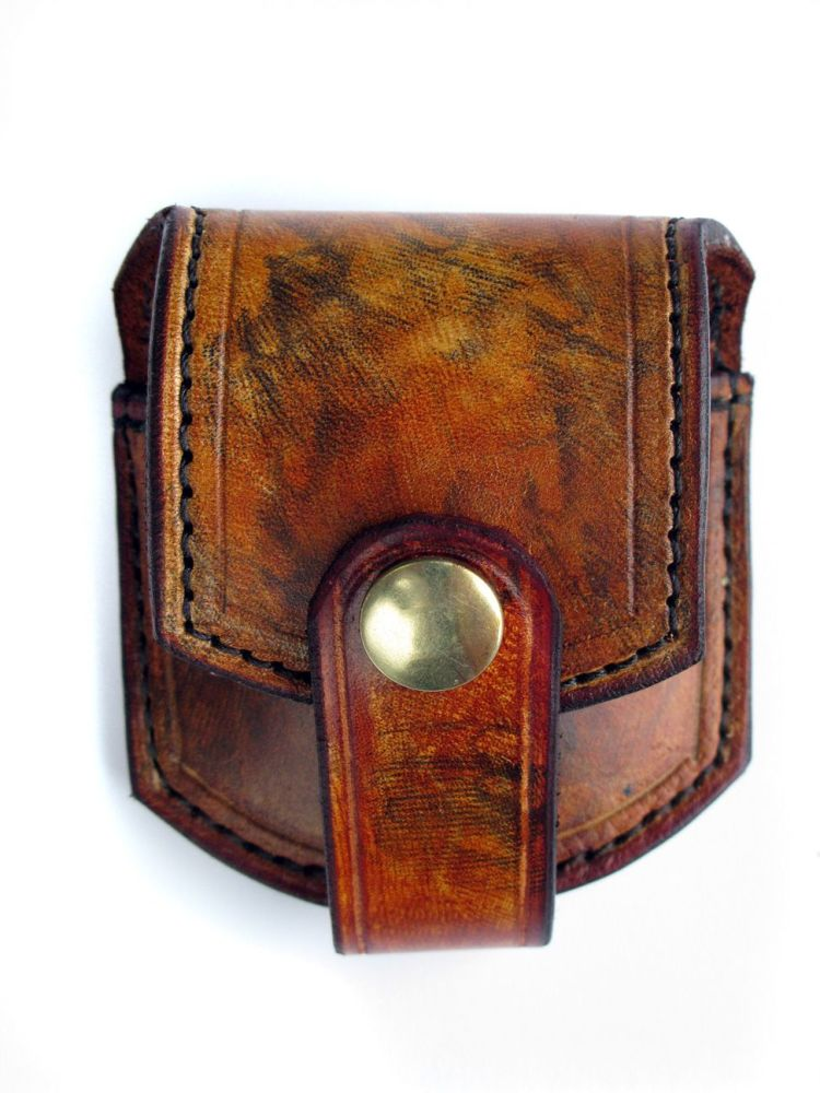 Handmade Leather Pocket Fob Watch Pouch