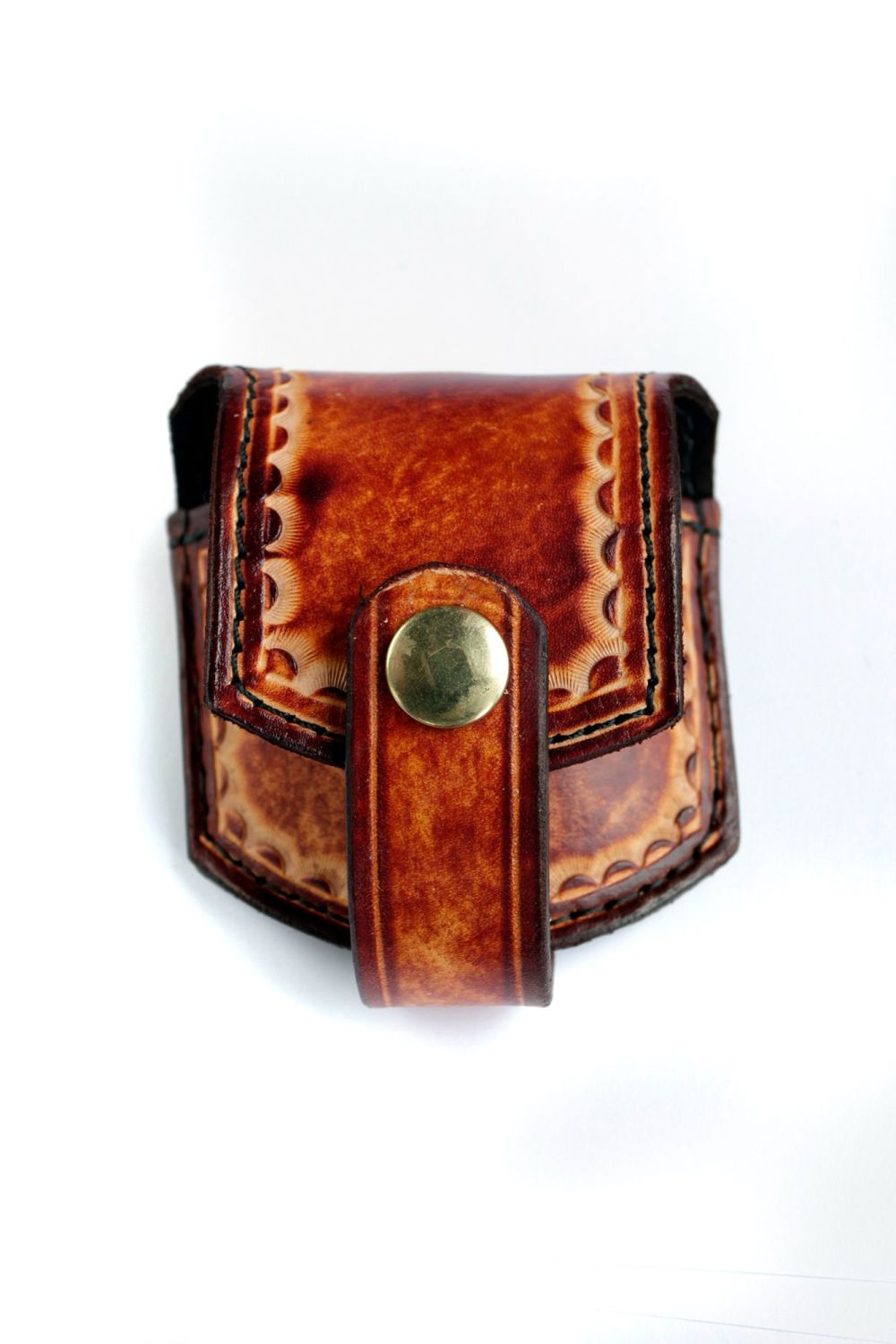 Handmade Leather Pocket watch Pouch