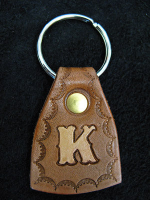 Handmade Leather Keyring