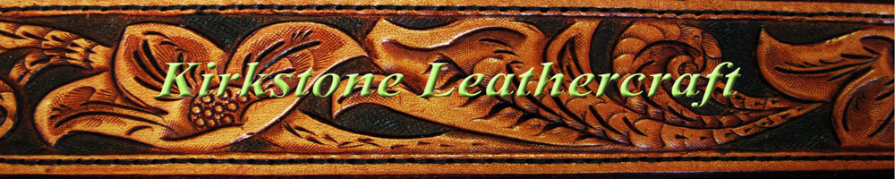 Kirkstone Leathercraft, site logo.
