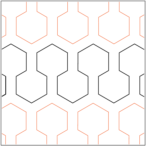 Argyle Digital Quilting Design