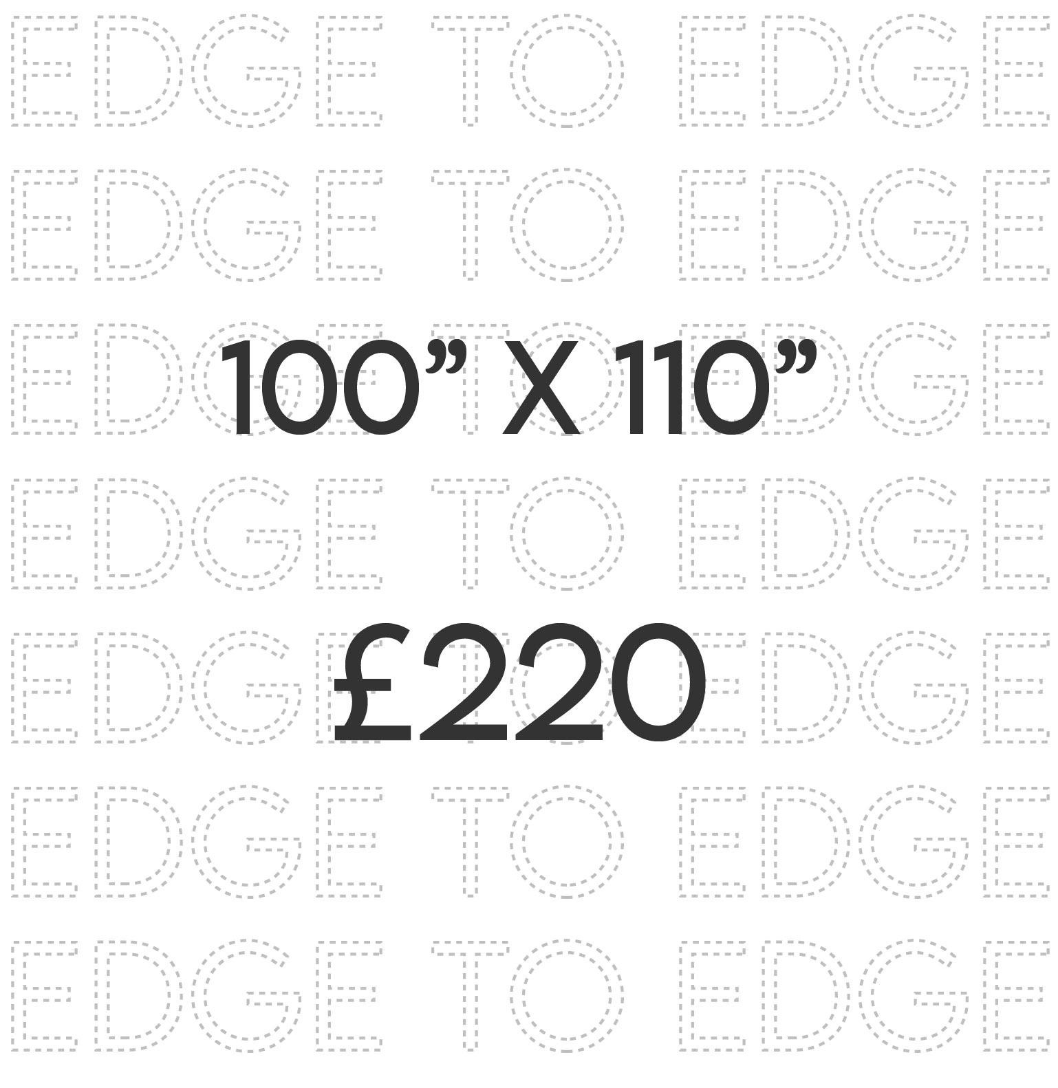 100 x110