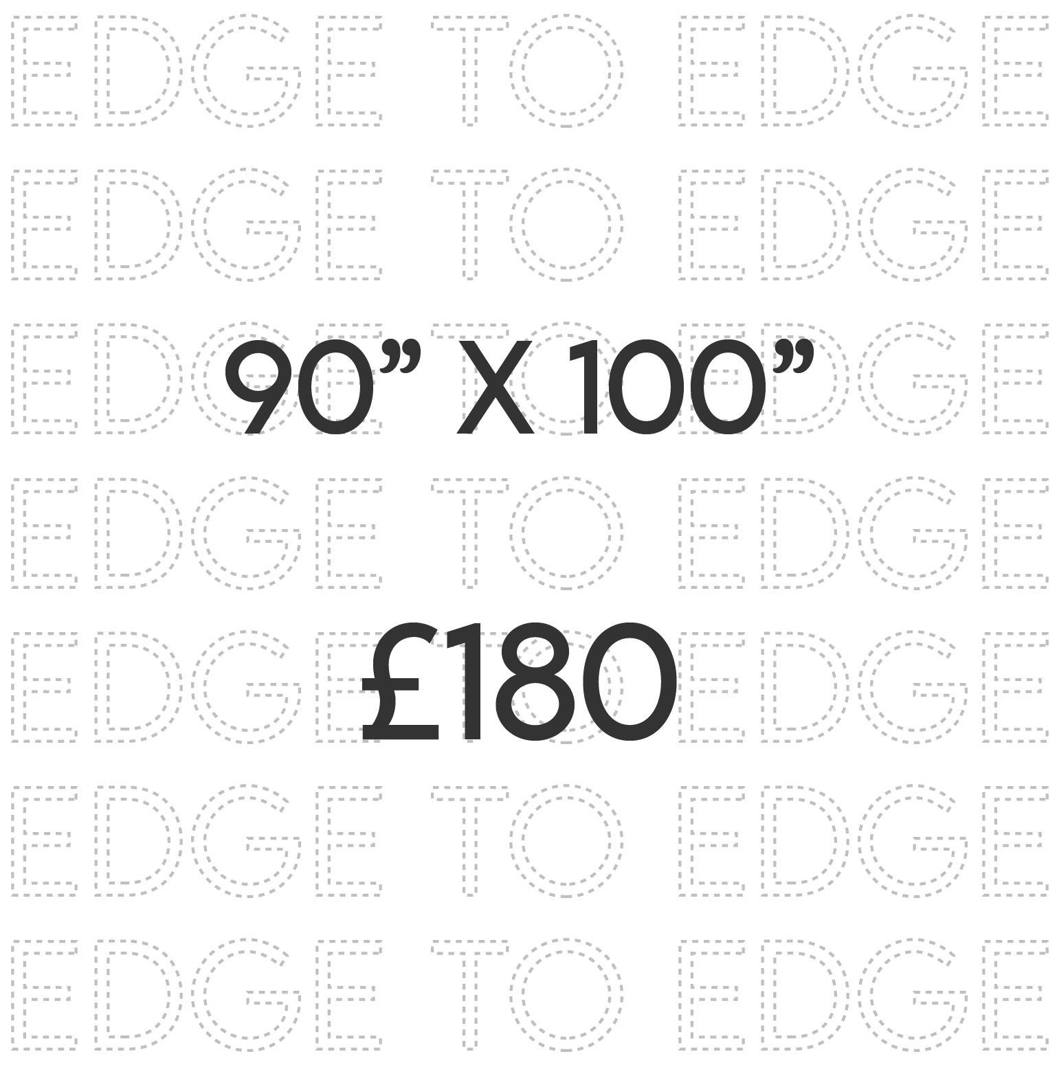 90 x 100