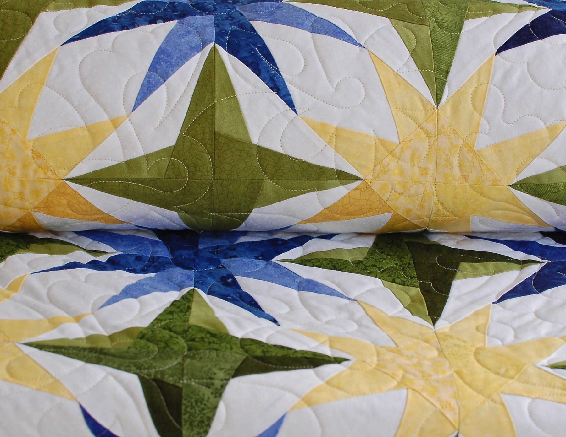 Beginner pantograph quilting with Tracey Pereira