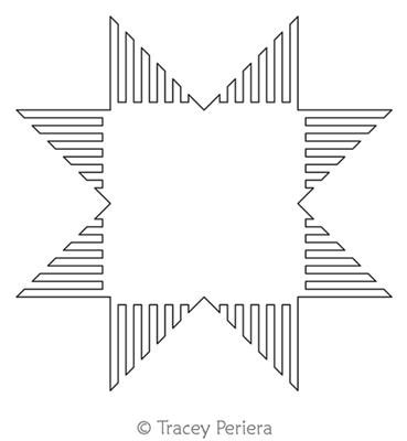 Modern Maze Block 2 by Tracey Pereira