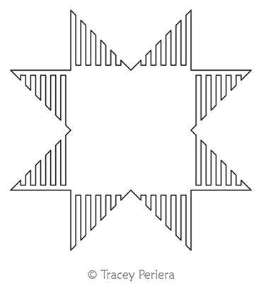 Modern Maze Block 6 by Tracey Pereira