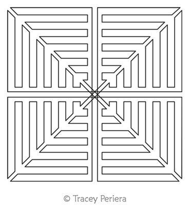 Maze Block 7 by Tracey Pereira