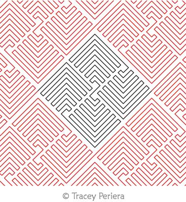 Modern Maze 2 by Tracey Pereira