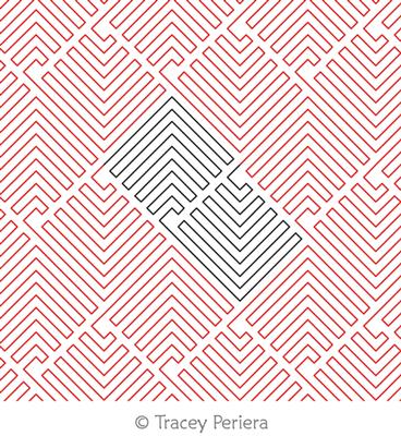 Modern Maze by Tracey Pereira