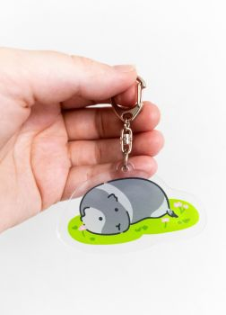 Guinea Pig Key Ring