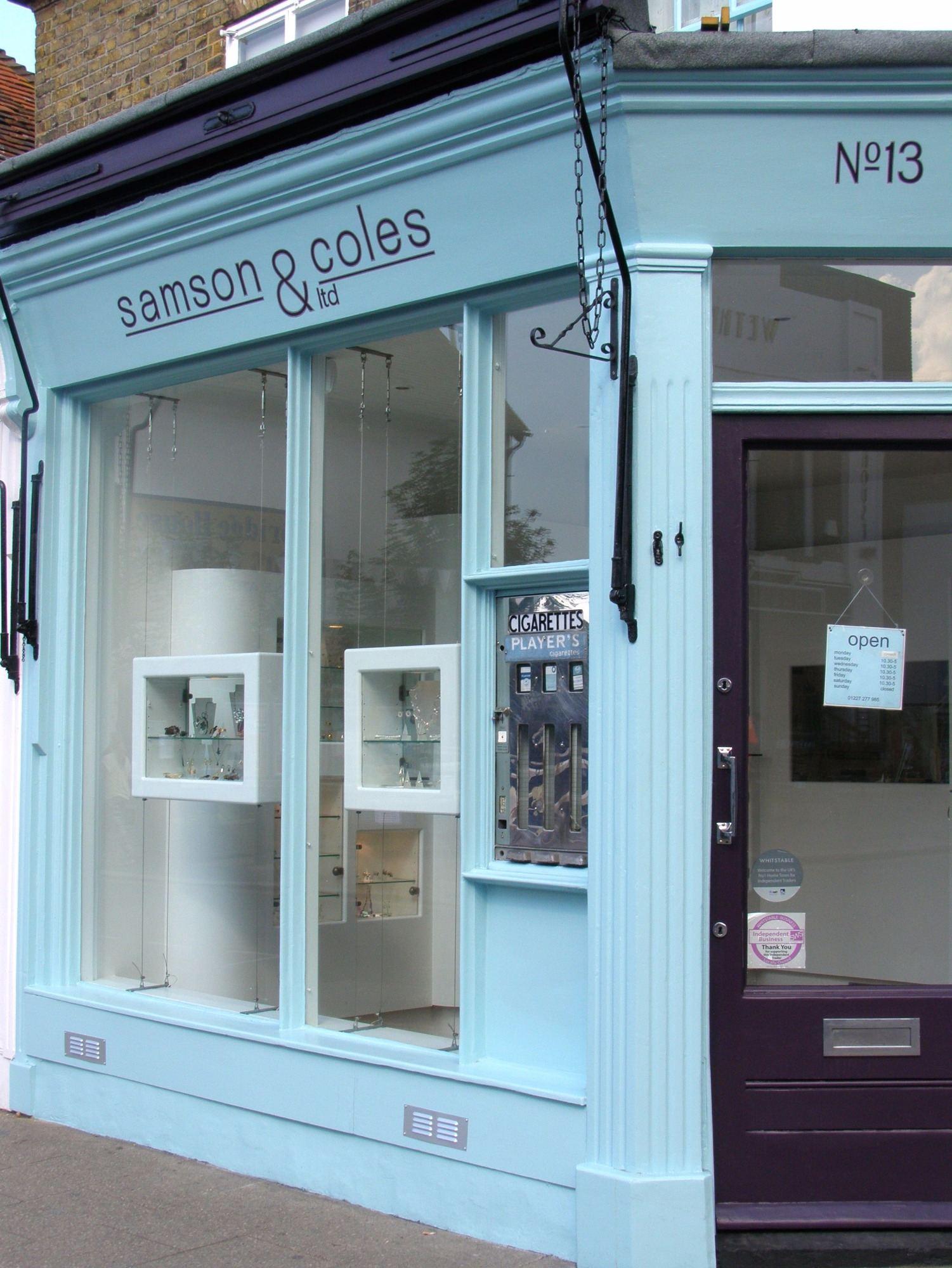 Samson and Coles Shop